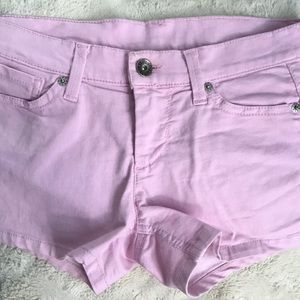 Pink Shorts size 27 by BENETTON JEANS